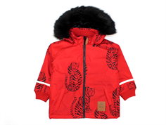 Mini Rodini vinterjakke parka tiger red